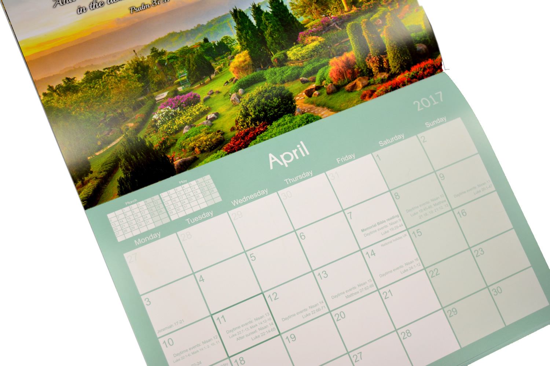 NEW! 2017 Theocratic Wall Calendar - Jehovah's Witness Theocratic